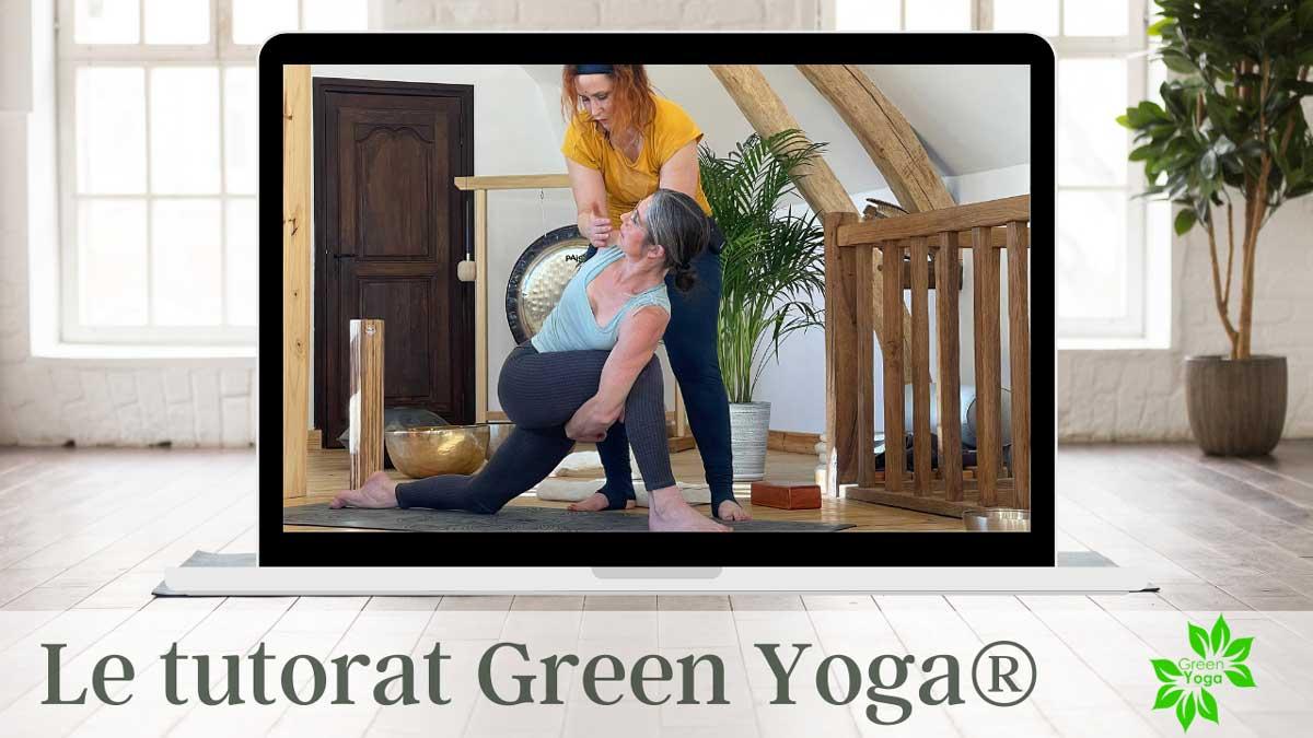 tutorat formation personnalisée green yoga accompagnement pédaogique formation yoga à distance