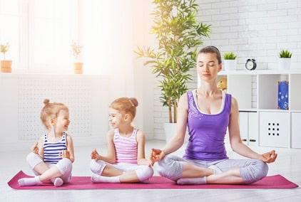 formation yoga enfant - devenir professeur de yoga pour enfants