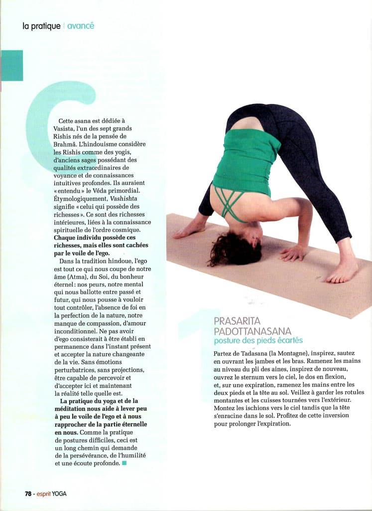 Celine Miconnet - Esprit Yoga - la pratique du yoga